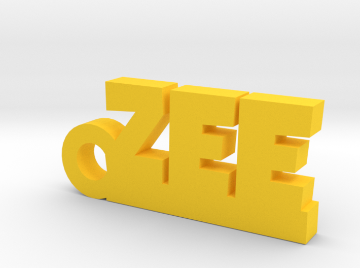 ZEE_keychain_Lucky 3d printed