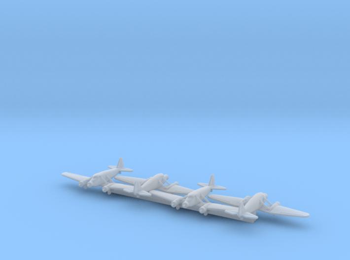 Stinson Model A w/Gear x4 (WW2) 3d printed