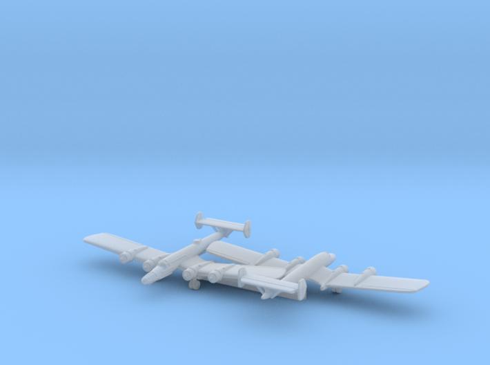 Bv 142 w/Gear x2 (WW2) 3d printed