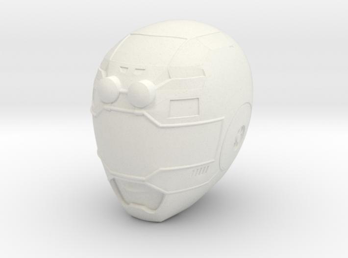 Turbo Blue Helmet LC 3d printed