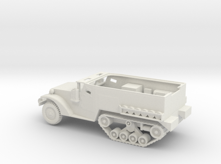 1/72 Scale M2 Half Track 3d printed