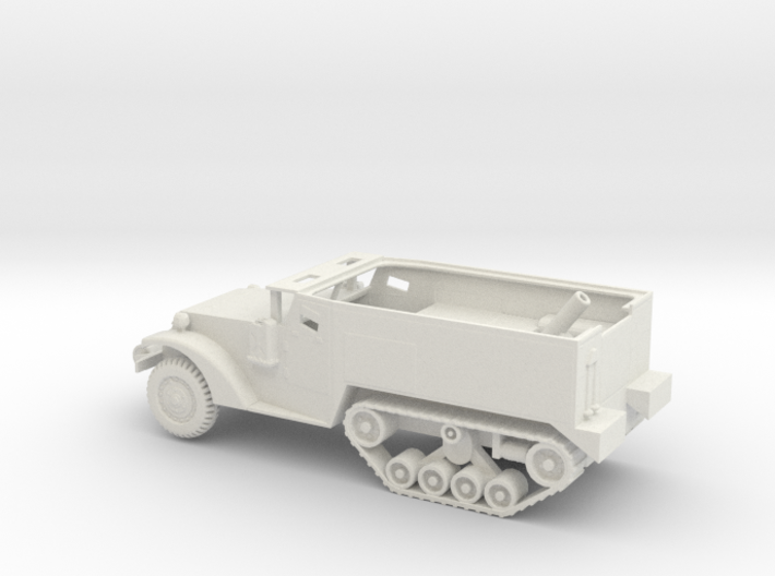 1/72 Scale M4A1 Mortar Carrier 3d printed