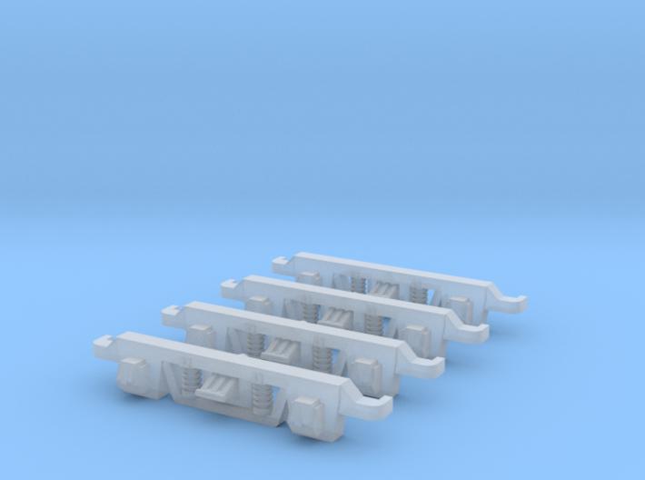 VR N Scale Cast Bogie Side Frames 3d printed