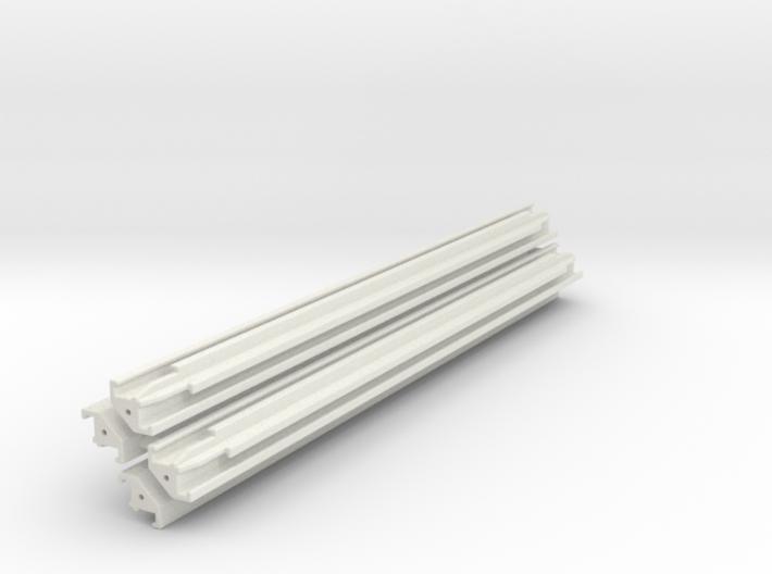 Verbau Eckträger 7.5m Set / shoring rail corner 3d printed