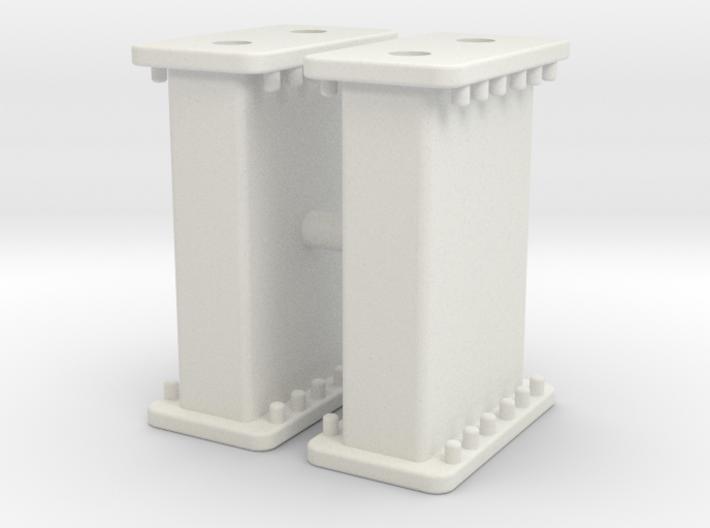 Verbau Zwischenstück 1m Set / rail shoring middle 3d printed