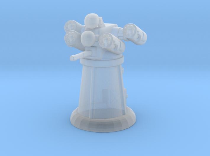 Dune rocket turret 3d printed