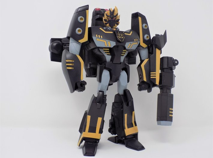 Transformers Animated The Fallen head for leader c 3d printed