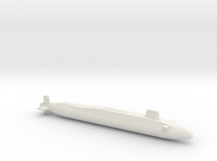 Vanguard-class SSBN, Full Hull, 1/1250 3d printed