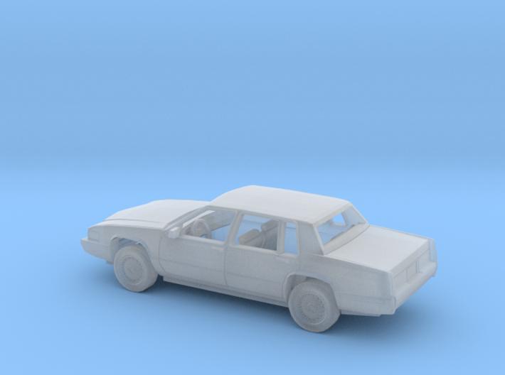 1/87 1989-92 Cadillac DeVille Sedan Kit 3d printed