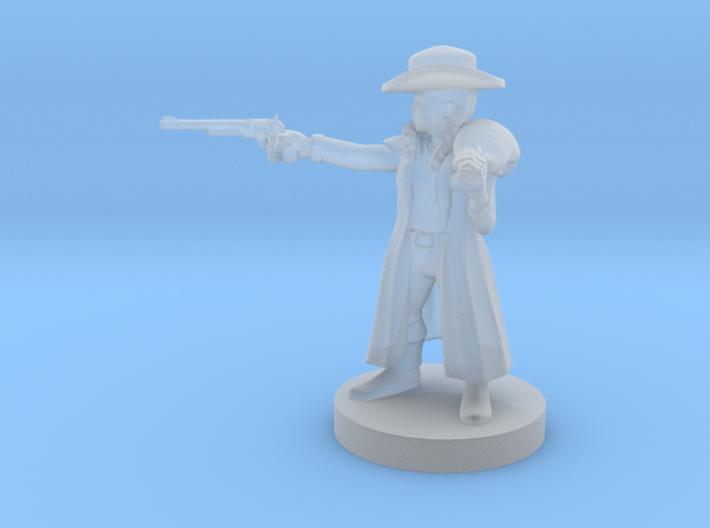 Halfling Female Gunslinger 3d printed
