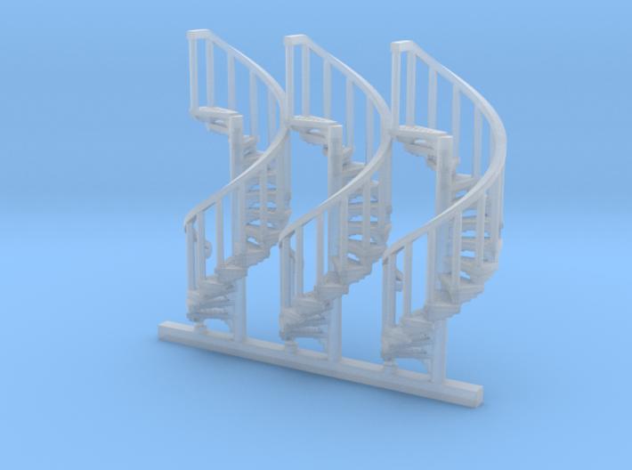 s-100fs-spiral-stairs-market-lh-x3 3d printed