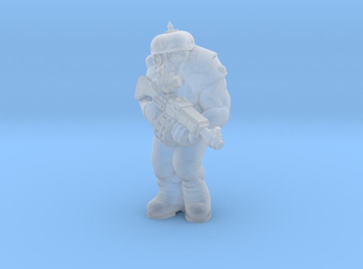 Space Ogre Assaulter test 3d printed