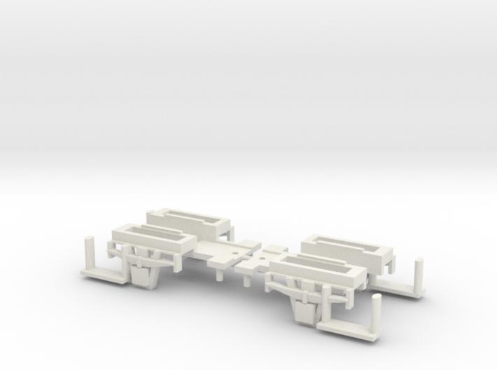 CCT Van Single Wheel Bachmann Set 3d printed