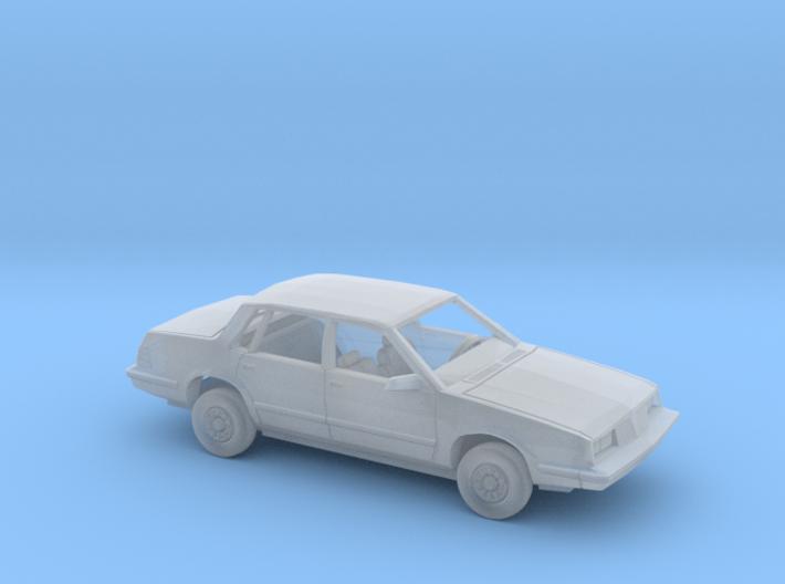 1/64 1984 Pontiac 6000 Sedan Kit 3d printed