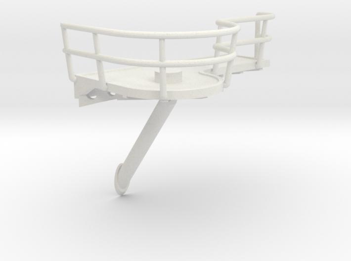 1/72 IJN Akagi Platform for Searchlight 3d printed