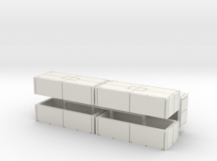 Mexeflote additional pontons 1/144 3d printed