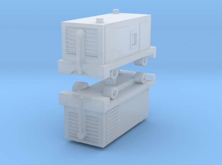 TLD ASU-600 Air Start Unit (x2) 1/220 3d printed