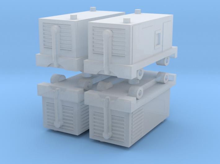 TLD ASU-600 Air Start Unit (x4) 1/285 3d printed