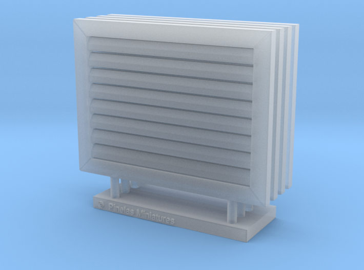 Vent Cover 01. 1:12 Scale 3d printed
