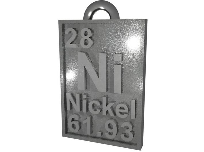 Nickel-62 Isotope Periodic Table Pendant - Large 3d printed