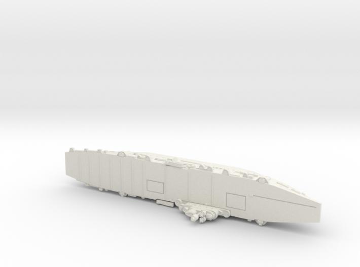 HMS Unicorn 1/1250 3d printed