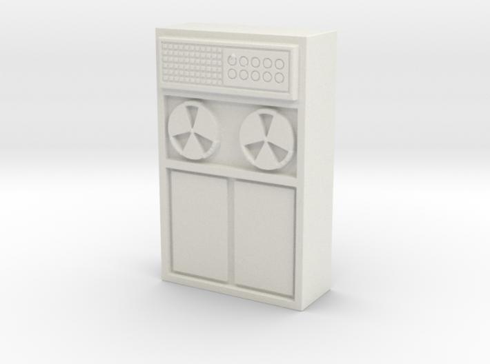 Old Computer Bank 1/48 3d printed
