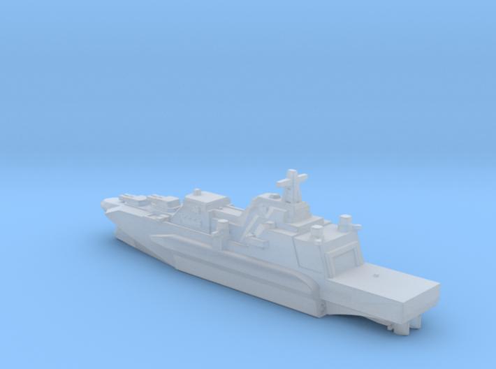 Gundam Kuraomikami destroyer 1/5000 3d printed