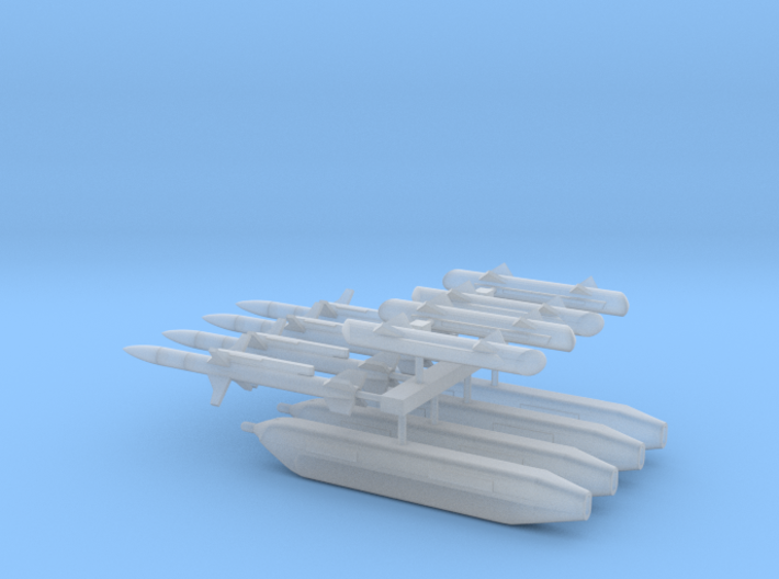 1:96 Scale EA-18G Growler Stores 3d printed