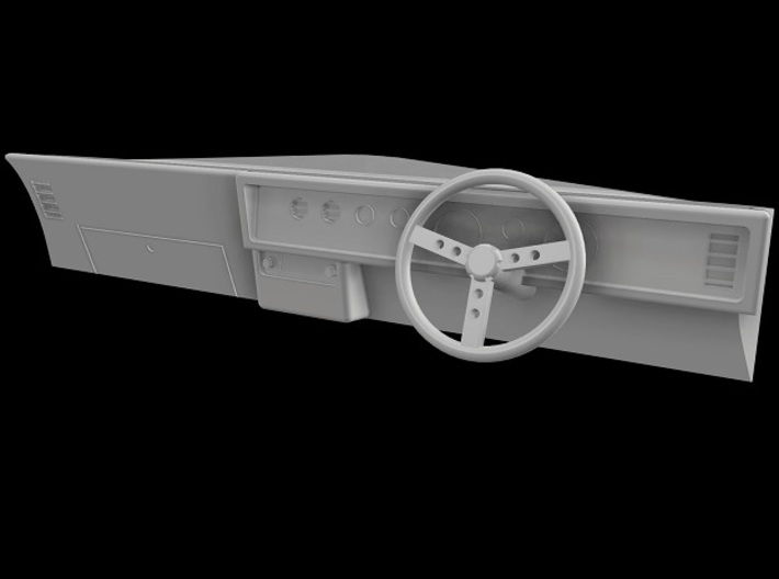 Trans Am 1971 Dash-Right Hand Drive 1/10 Scale RC 3d printed