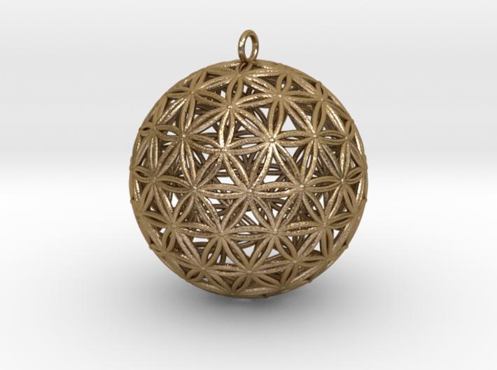 Geodesic Flower of Life sphere Flower of life 50mm 3d printed