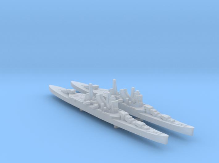 2pk sprue IJN Mogami cruiser 1:3000 WW2 3d printed