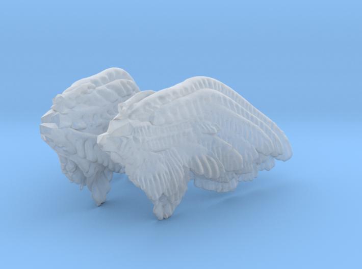 Printle Thing Angel Wings II - 20 mm 3d printed