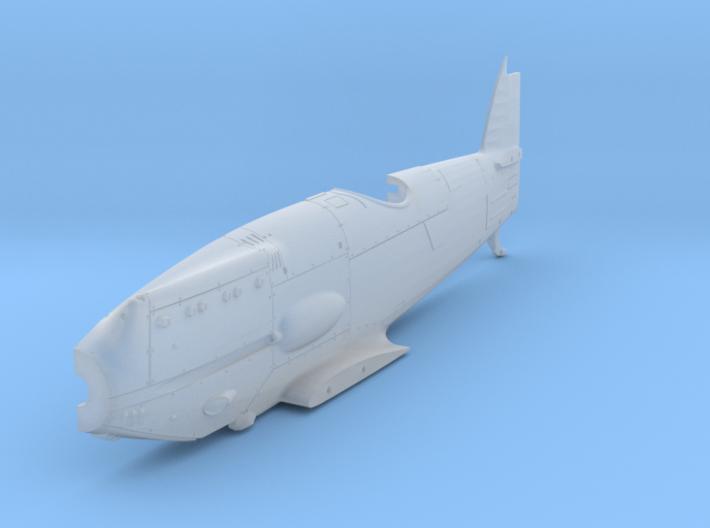Avia B.34-FuselageLH72 (1 of 5) 3d printed