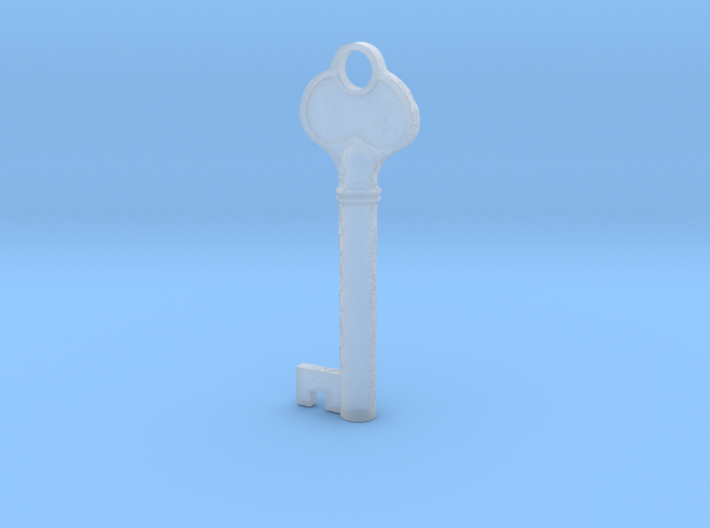 Bloodborne Lecture Theatre Key 3d printed