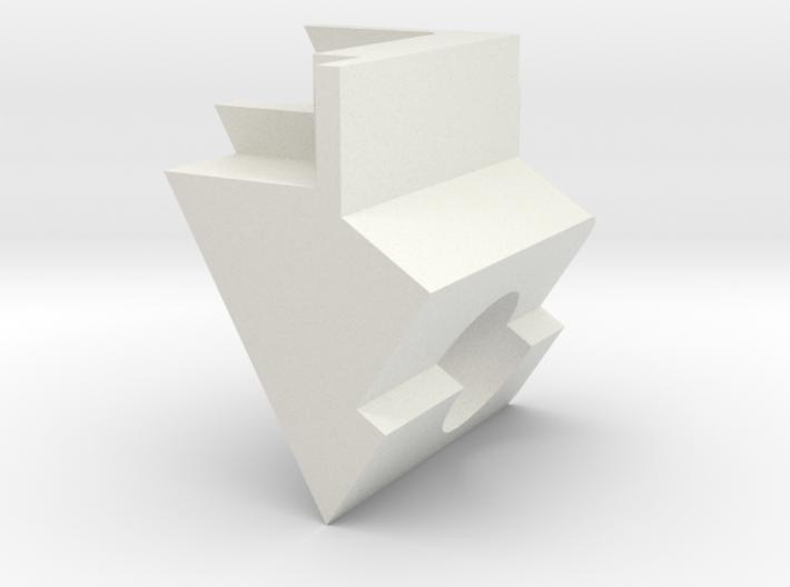 ExcitationPathHeatShield_bottom 3d printed