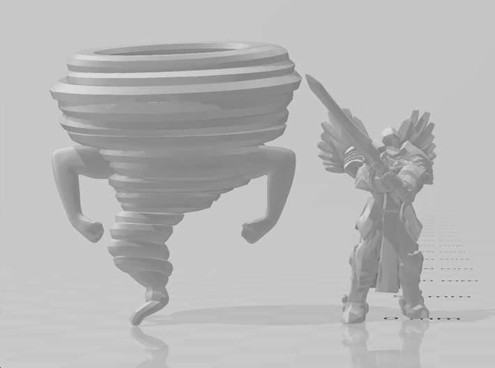 Mortuary Cyclone 50mm DnD miniature fantasy games 3d printed