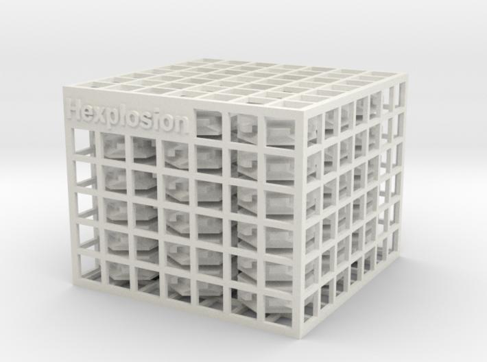 Hexplosion 3d printed