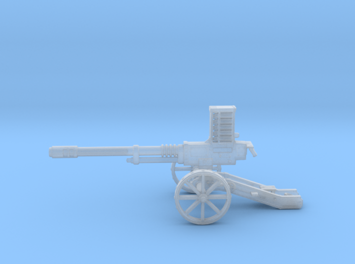 Steampunk Automatic Cannon 3d printed