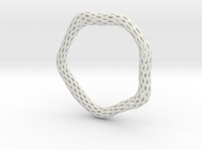 Irregular Bracelet (Size XL) 3d printed