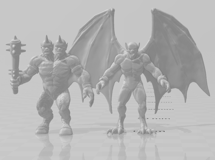Killer Instinct Gargos 54mm DnD miniature game rpg 3d printed