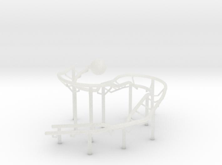 Rolling Ball Sculpture 3d printed