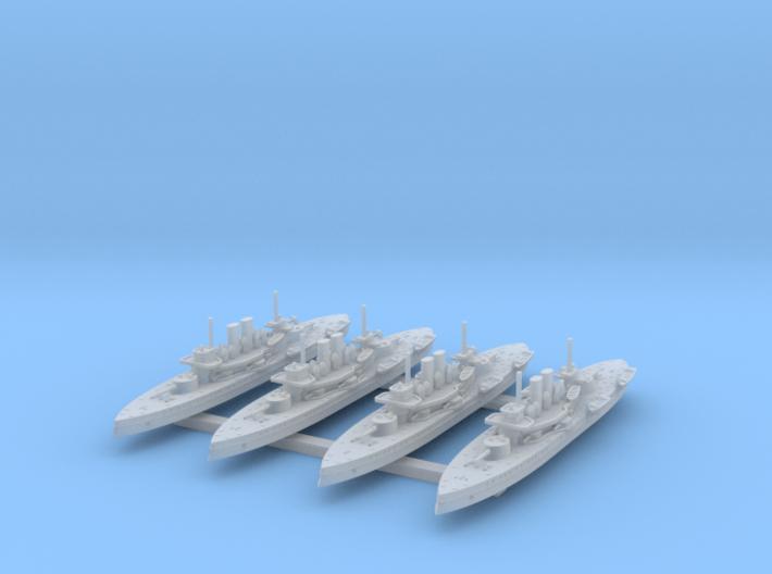 1/1250 Aran Class x4 3d printed