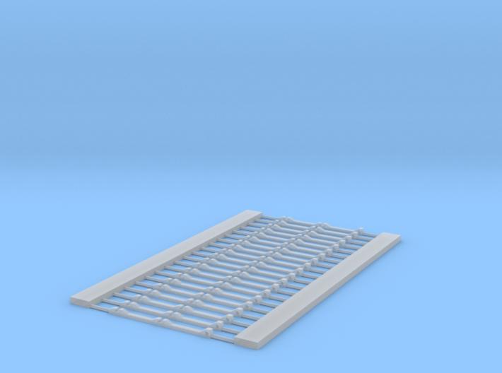 HOn3 code 55 Stub switch bridle 3d printed