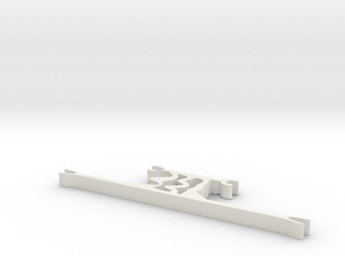 hrm6 part mount 3d printed