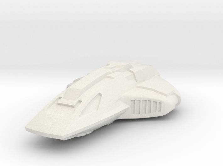 Crockett Class Shuttle Micro Machine Scale 3d printed