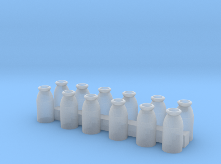 O Scale Milk Cans 3d printed This is a render not a picture
