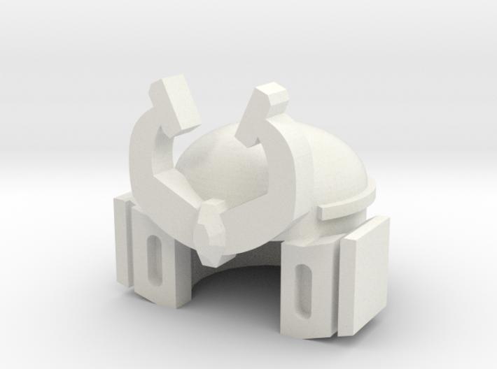 Robohelmet: Pretend Sam 3d printed