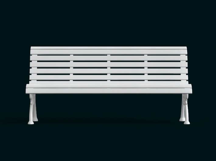 1:10 Scale Model - Bench 02 3d printed