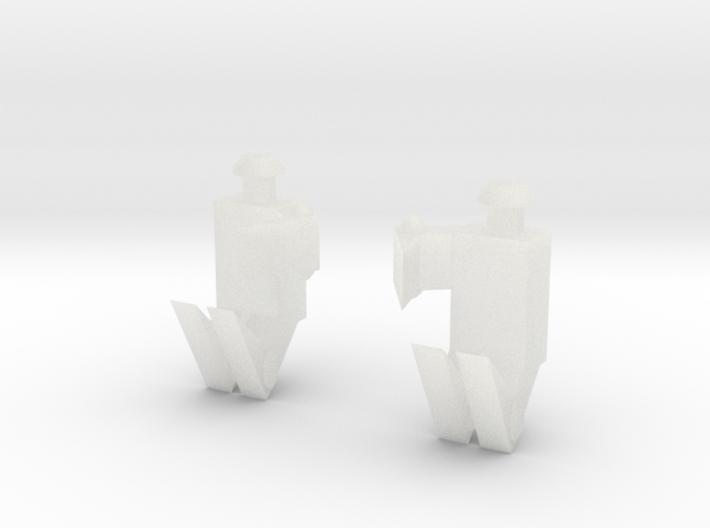 Hordak Claw Pair 3d printed