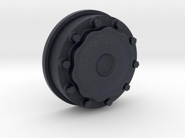 Nabendeckel VA für Lkw-Felge passend zu ScaleART 3d printed